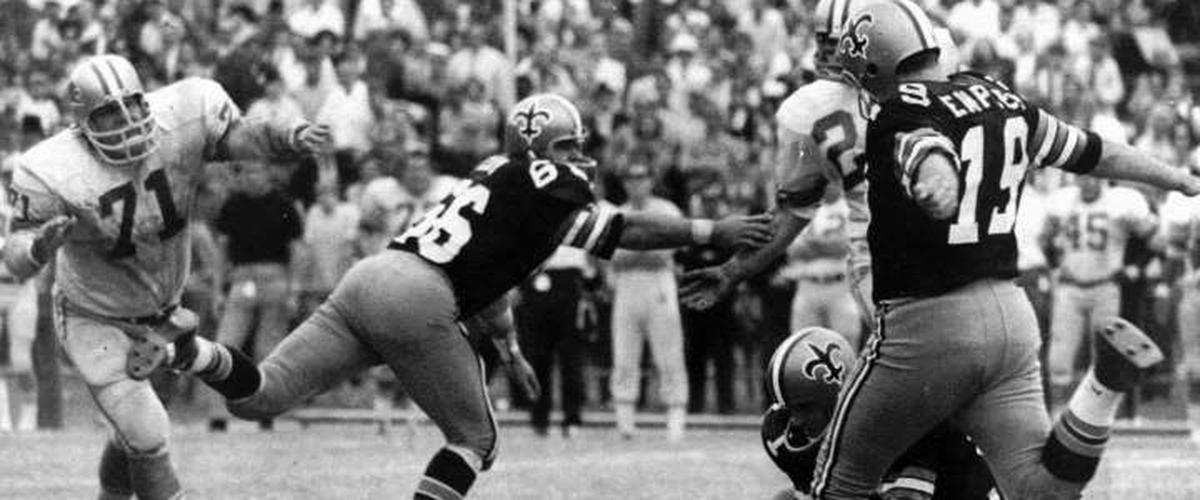 Famed New Orleans Saints kicker Tom Dempsey has coronavirus