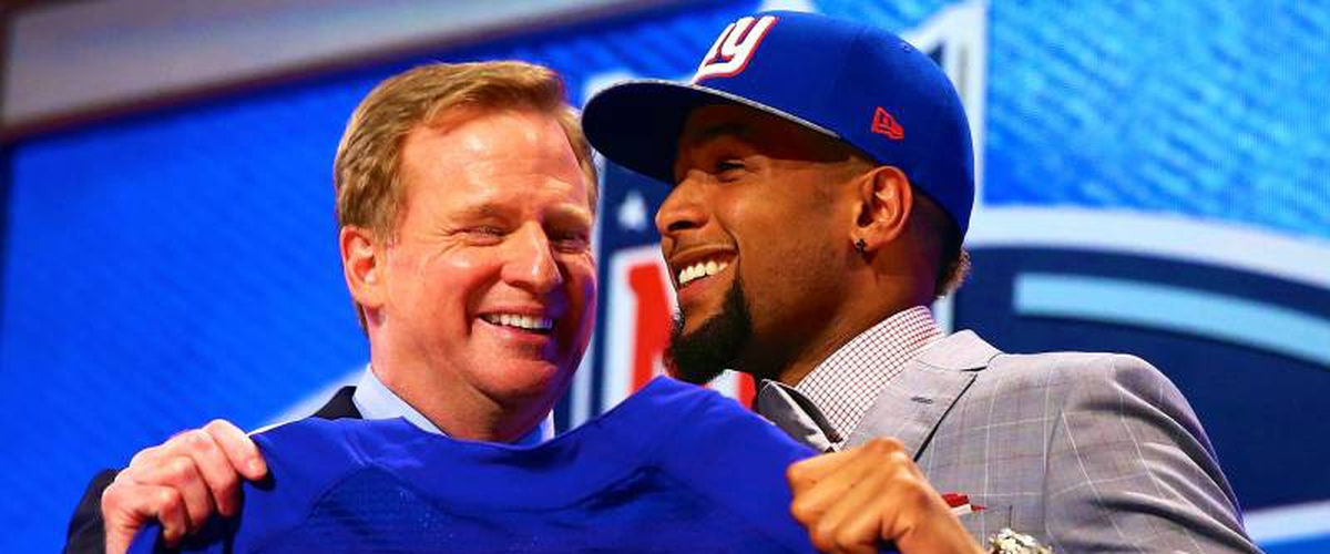 The 2014 New York Giants Draft; Odell distracts you from how bad this draft was for franchise