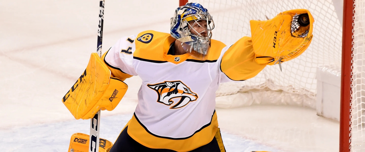 Nashville Predators: I have faith in Juuse Saros moving forward