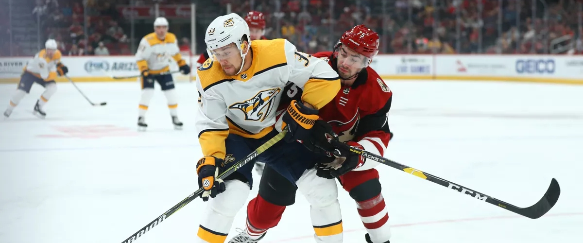 The Nashville Predators will tangle with the Arizona Coyotes in the reformatted NHL playoffs