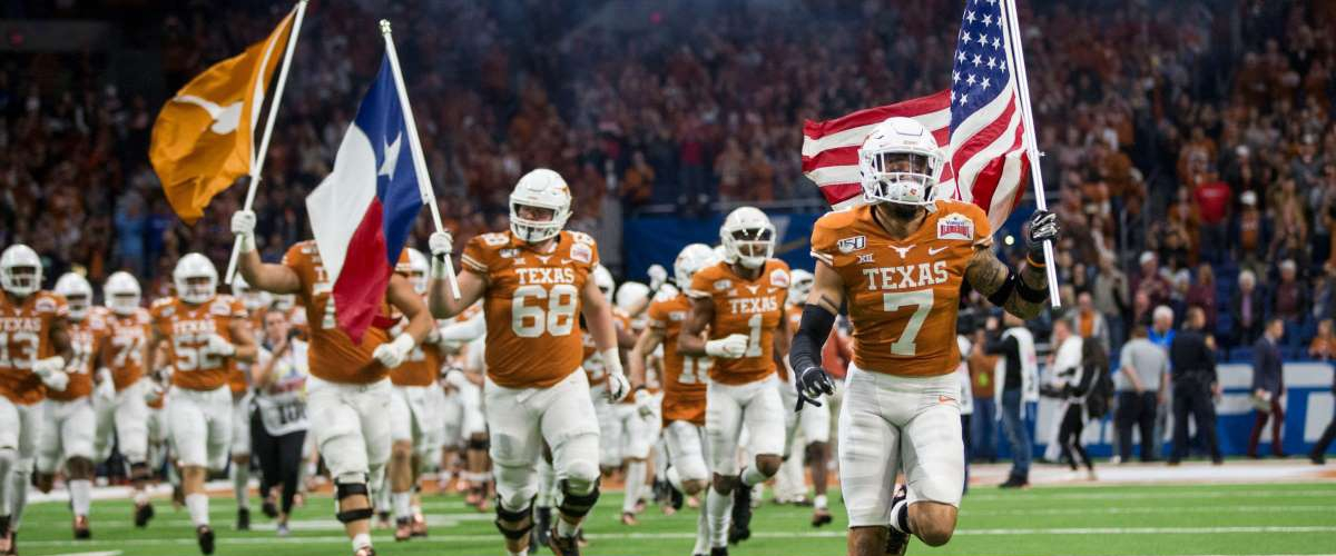 The argument for the Texas Longhorns