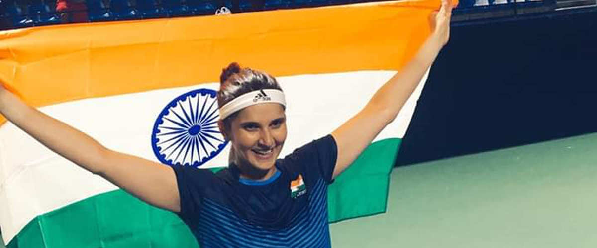 Indian tennis star Sania Mirza signs a deal with Cornerstone