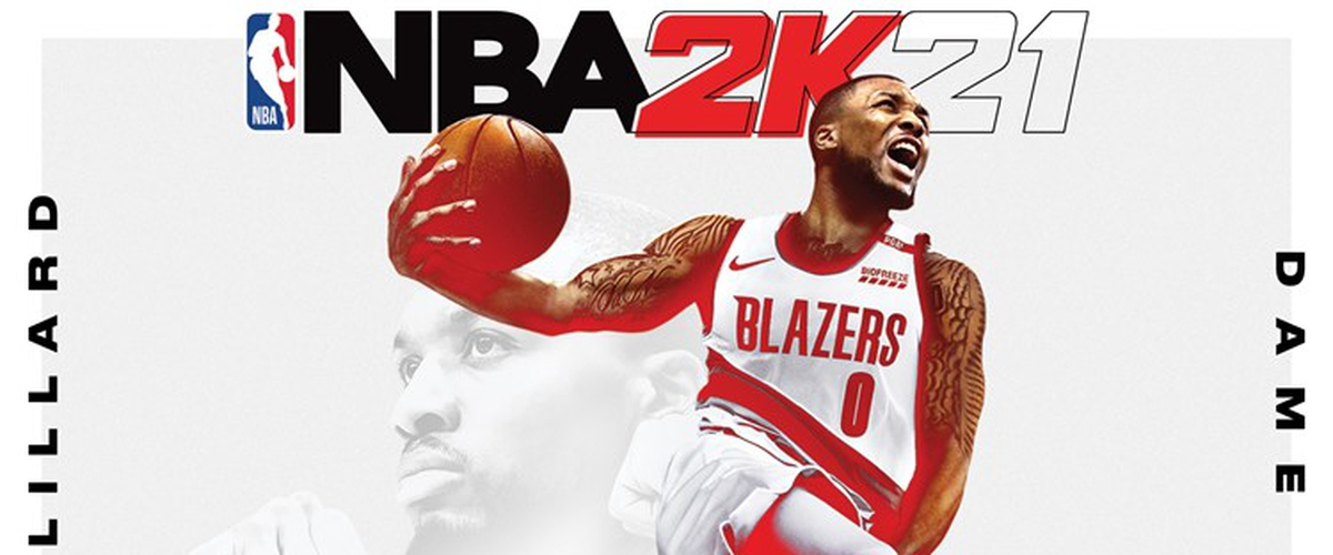 Damian Lillard rightfully selected to be on the cover of NBA 2K21