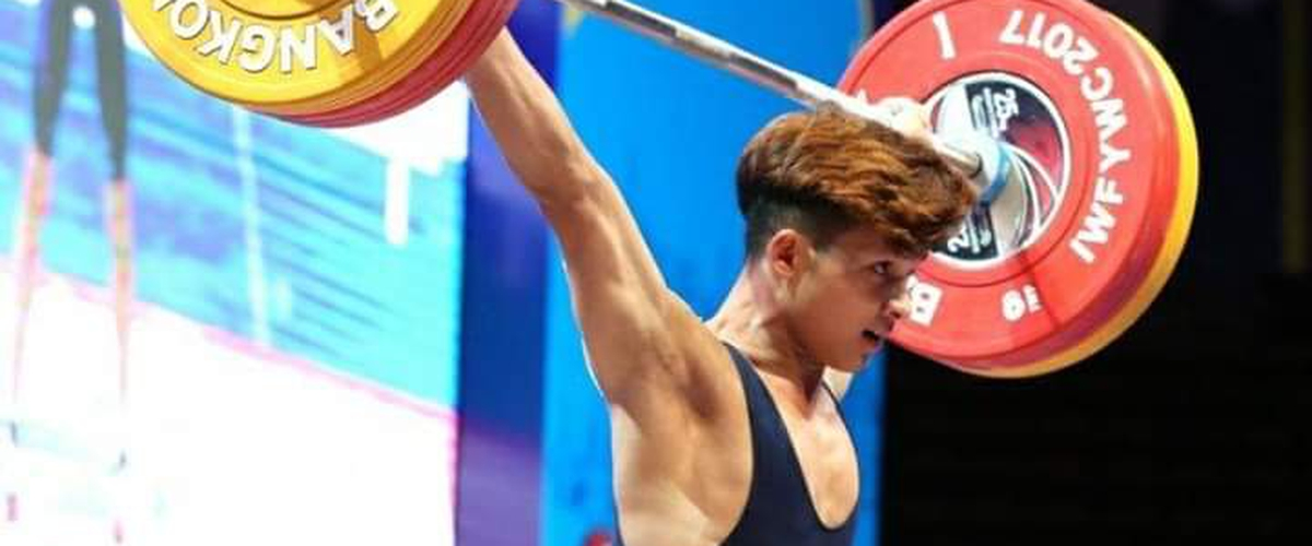 Indian leading sports marketing firm IOS Sports signs a deal with India's first youth Olympic weightlifting champion Jeremy Lalrinunga