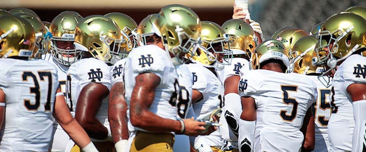 Finally! Notre Dame football will join a conference