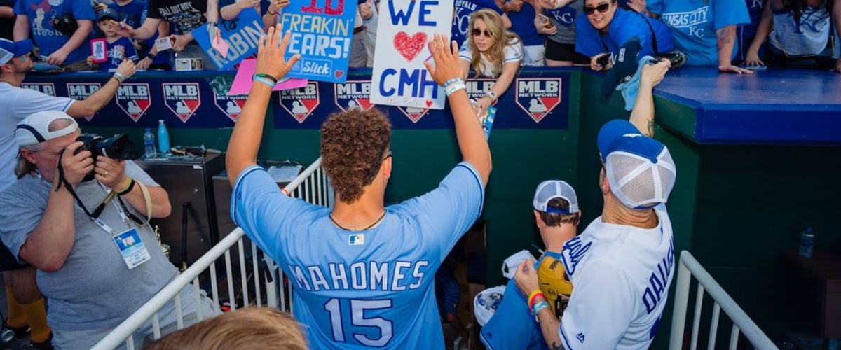 Mahomes Becomes Part Owner of the KC Royals