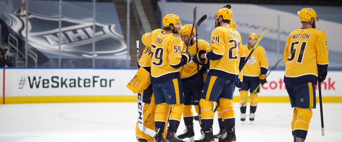 Nashville Predators: Let's build on that momentum from Game 2