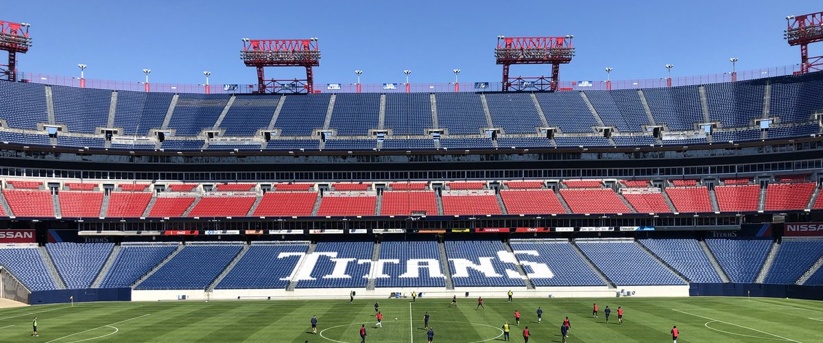 The Tennessee Titans & Nashville SC will not have fans in Nissan Stadium until after September