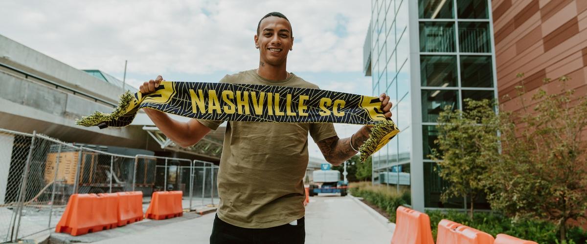 Nashville SC: Jhonder Cadiz has arrived in the U.S.!