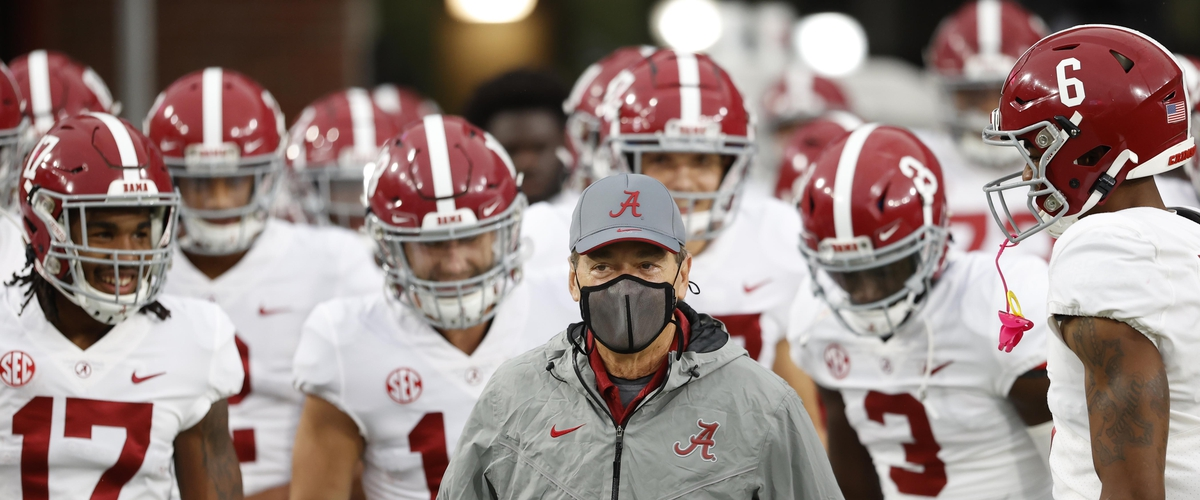 Can Alabama survive Georgia without Nick Saban?