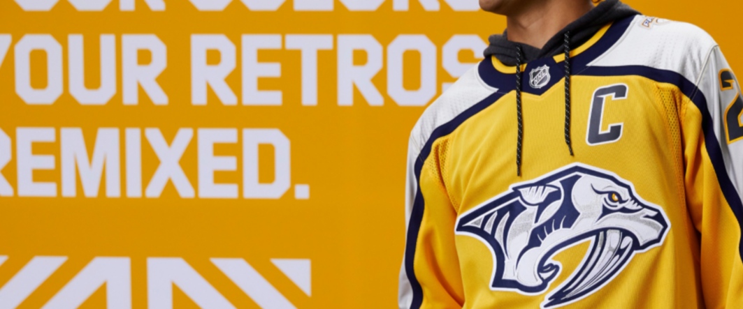 The new Predators retro jerseys are incredible!