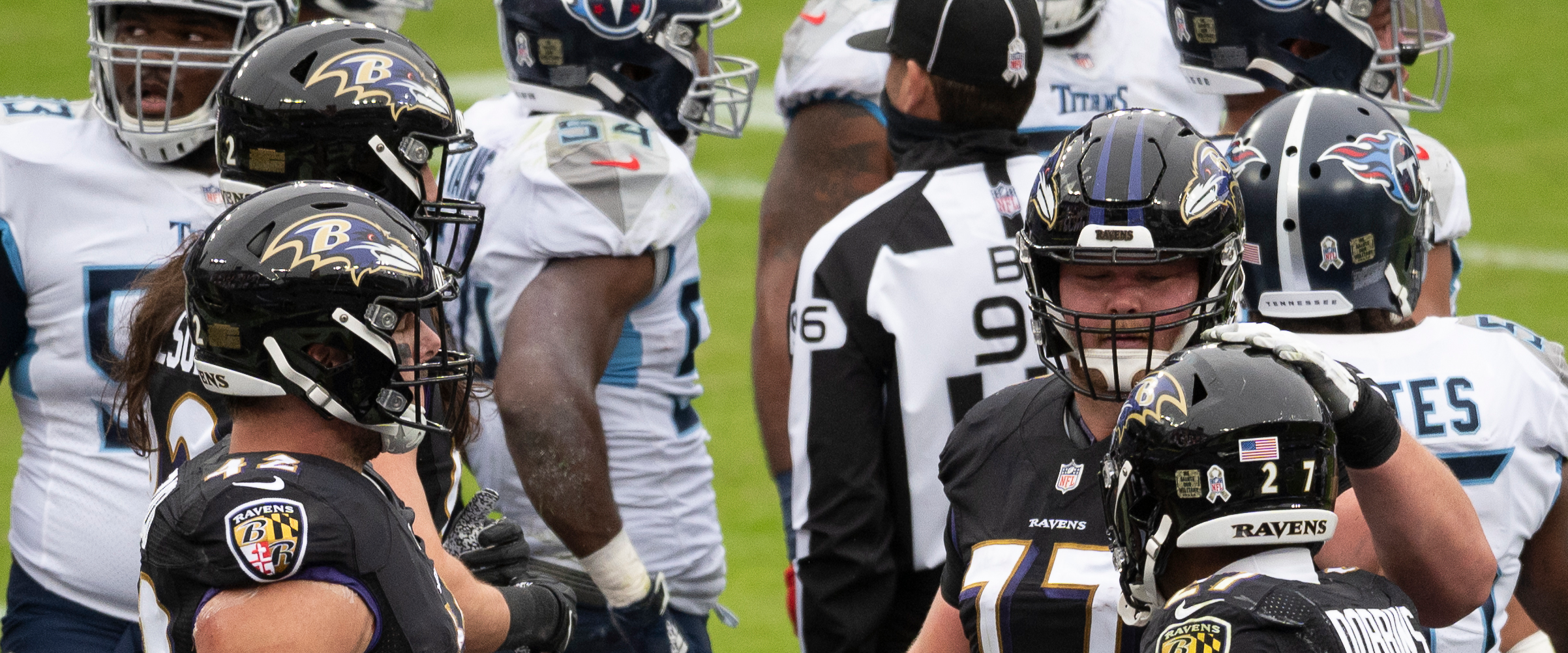 What does the Ravens' COVID outbreak mean for the Titans?