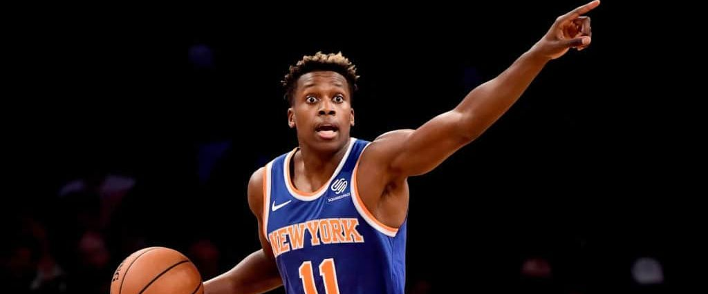 Frank Ntilikina looks like he's ready to be a starter